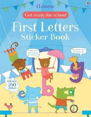 First Letters Sticker Book