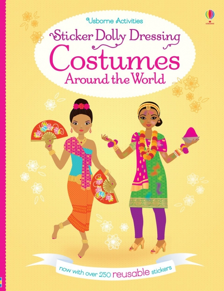 Sticker Dolly Dressing - Costumes around the world