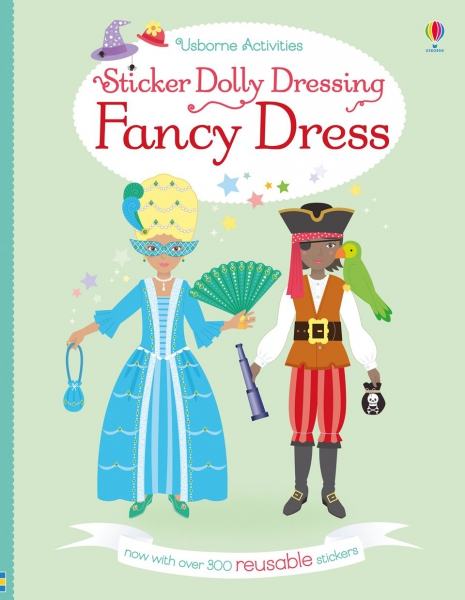 Sticker Dolly Dressing - Fancy dress